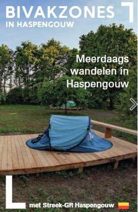 Paalkamperen in Haspengouw
